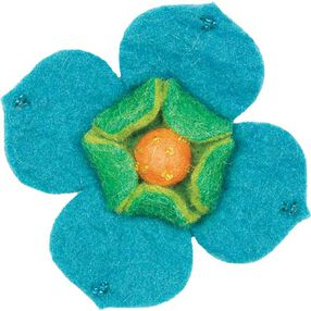 Dogwood Wool Felt Flower_73301
