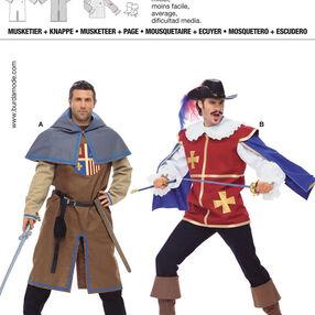 Burda Style, Musketeer & Page