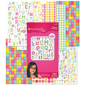 Alphabet Sticker Pad_30-598195