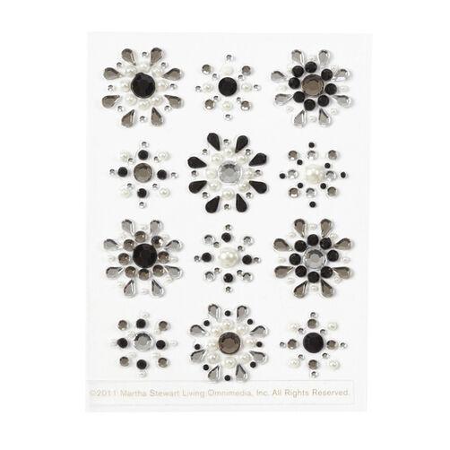 Gemstone Mini Flower Stickers_41-04060