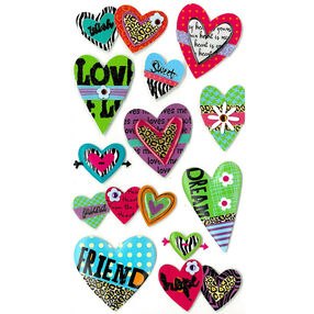 Fun Hearts Stickers_50-50295