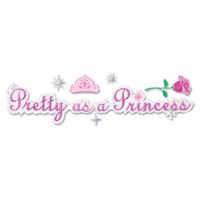 Pretty As A Princess Title Sticker_DJTP001