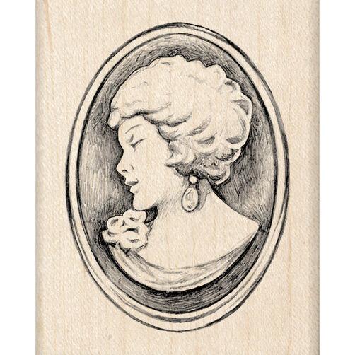 Cameo Wood Stamp_60-00875