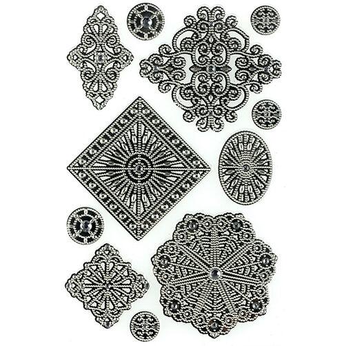 Elegant Filigree Architectural Element Stickers_41-05023