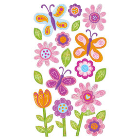 Whimsical Garden stickers _52-00698