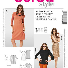 Burda Style Pattern 7031 Dress & Shirt