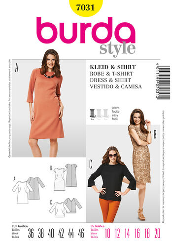 Burda Style Dress & Shirt