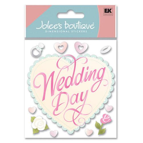 Wedding Day Stickers_SPJB368