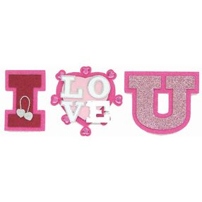 I Love U Title Stickers_SPJT234