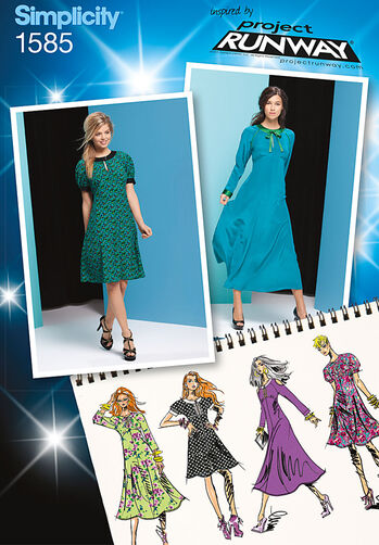 Misses' Dress Project Runway Collection