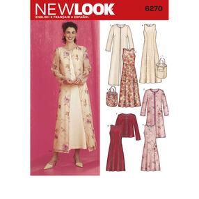 New Look Pattern 6270 Misses Dresses