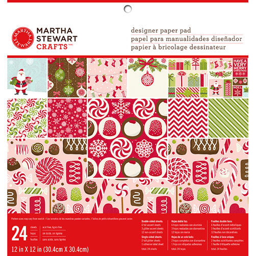 Peppermint Winter 12 x 12 Paper Pad_48-30249