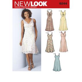 New Look Pattern 6244 Misses' Dresses