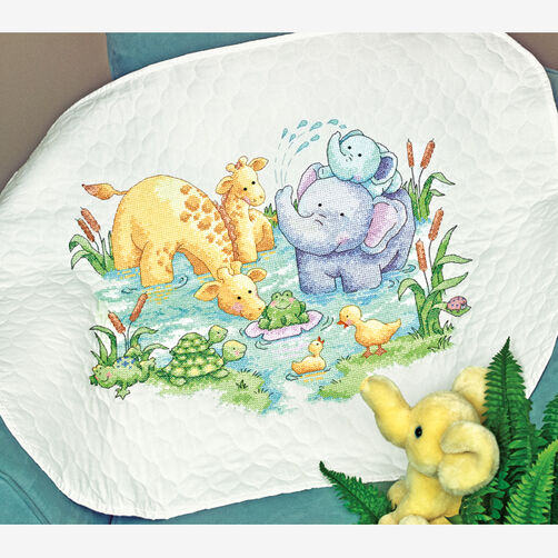 Little Pond Quilt Stamped Cross Stitch_70-73924
