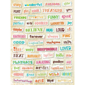 Urban Rhapsody Vellum Word Strips_567764