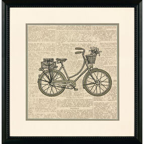Classic Bicycle, Embroidery_72-73721
