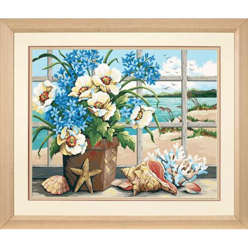 Seaside Still Life, Paint by Number_91360