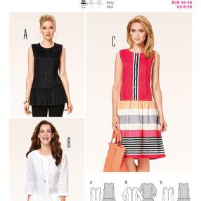 Burda Style Pattern 6912 Dresses