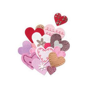 Pink & Gold Hearts Embellishment_JJCF010B