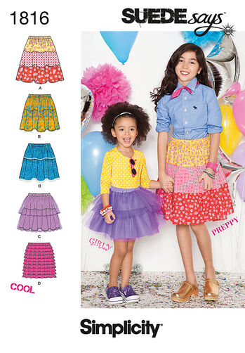 Child's & Girl's Skirts SUEDEsays Collection