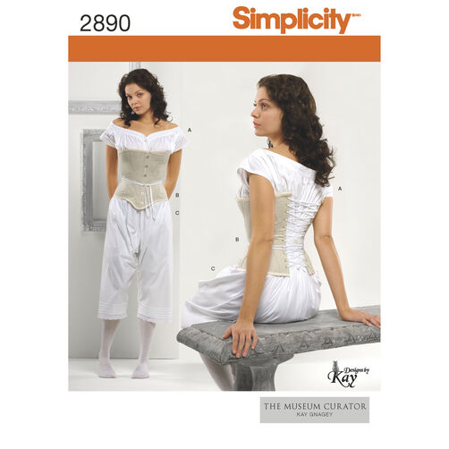Simplicity Pattern 2890 Misses' Costumes