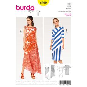 Burda Style Pattern B6500 Misses' Asymmetrical Dress