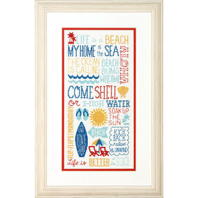 Fun in the Sun, Counted Cross Stitch_70-35351