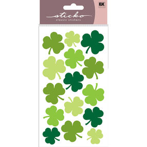 Large Shamrocks Stickers_52-00950