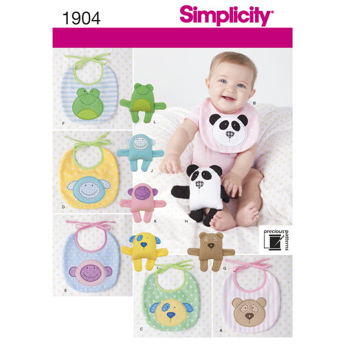 Simplicity Pattern 1904 Babies' Accessories