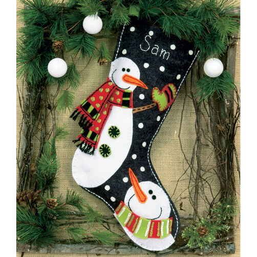 Snowmen Stocking_72-08176