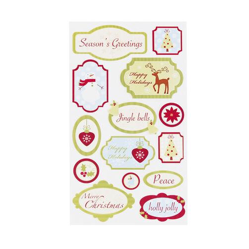 Seasons Greetings Stickers _52-01112