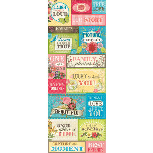 Serendipity Embossed Stickers_30-304659