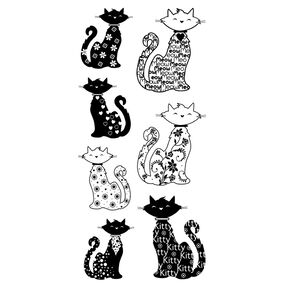 Patterned Cats_60-30332