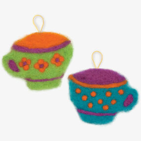 Try Needle Felting Tea Cup _72-73911