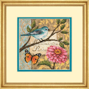 Bird Poste, Counted Cross Stitch_70-65103