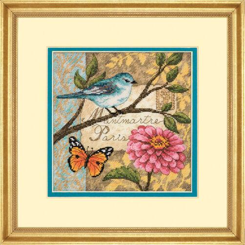 Bird Poste, Counted Cross Stitch_70-65103