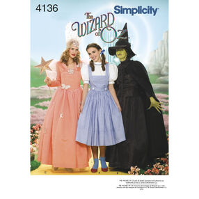 Simplicity Pattern 4136 Misses' Costumes