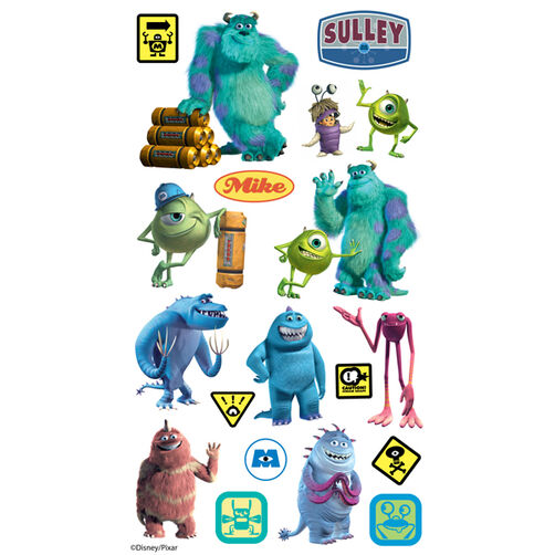 Monsters Inc. Flat Stickers_53-00016