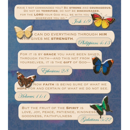 Bible Quotes Sticker Medley_30-586888