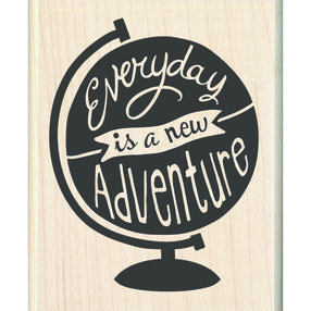 A New Adventure Wood Stamp_60-01080
