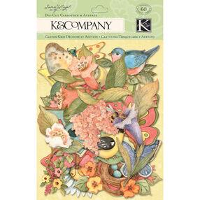 Susan Winget Spring Blossom Icons Die-cut Cardstock & Acetate_30-598867