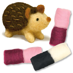 Little Hog Felted Characters, Set of 2_149104