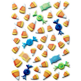 Tim Coffey Halloween Candy Corn Pillow Stickers_30-678194