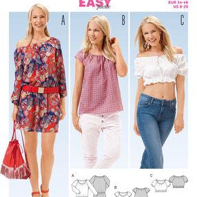 B6684 Women's Dress and  Blouse