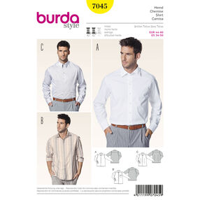 Burda Style Pattern 7045 Shirt