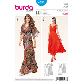 Burda Style Pattern 6583 Dress