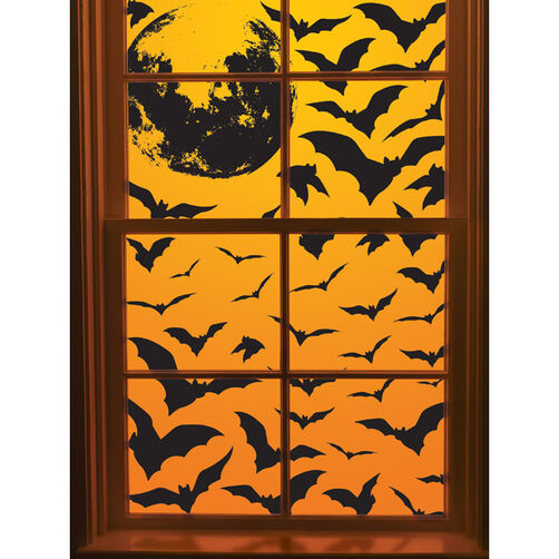 Bat Swarm Window Cling_44-10059