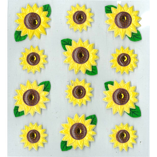 Sunflowers Cabochons_50-20828