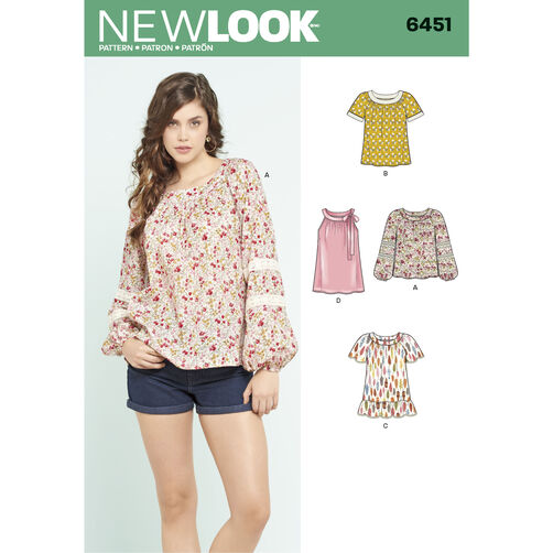 Blouse Patterns New Look 7