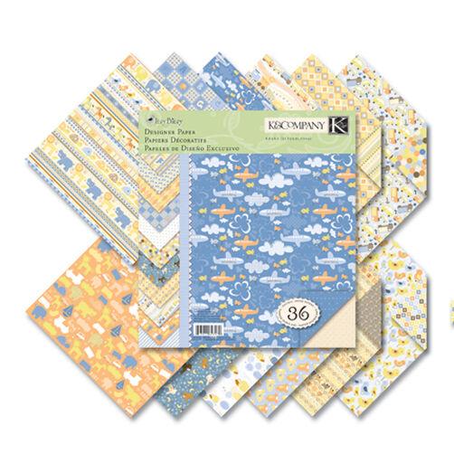 Itsy Bitsy 8.5x8.5 Baby Boy Paper Pad_623170
